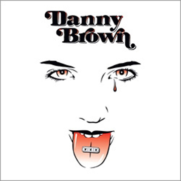 """額入り"" DANNY BROWN PHOTO back"