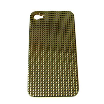 Gold Bling Hard Case Cover For Apple iPhone 4S front