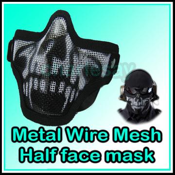 Skull Haft Mesh mask