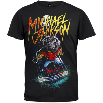 "Michael Jackson – This Is It ""Wolf""   T-Shirts"
