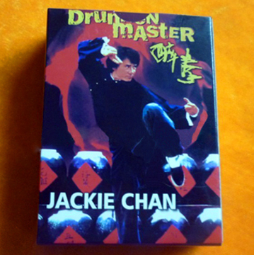 Jackie Chan playing cards back