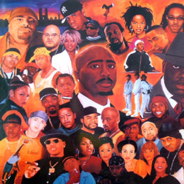 Hip Hop Allstars – Poster back