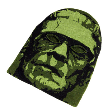 Frankenstein Monster Knit Mask front