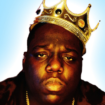 NOTORIOUS BIG 「READY TO DIE」 POSTER back