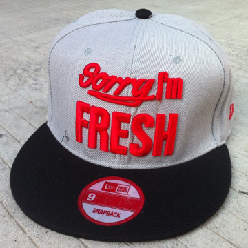 Sorry I,m FREH Snapback Hats front