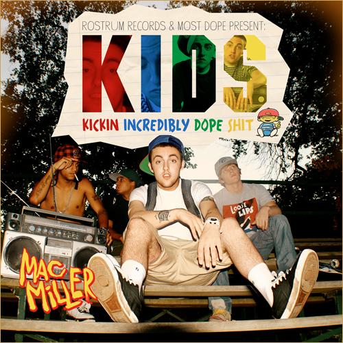 Mac Miller MOST DOPE Snapback Cap label