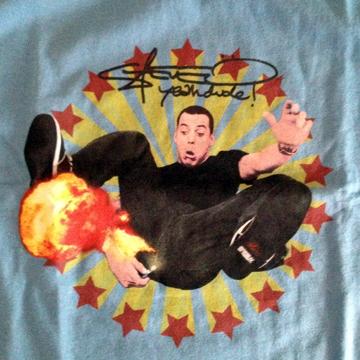 Steve-O T-Shirts S label