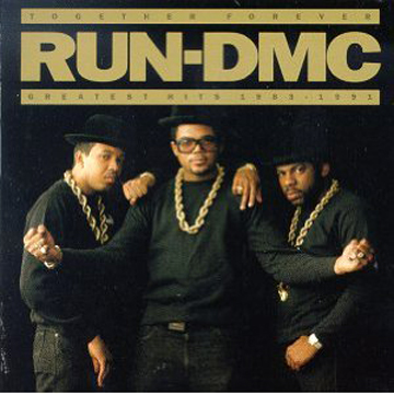 RUN DMC Together Forever  Patch back