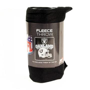 Oakland Raiders NFL フリースブランケット back