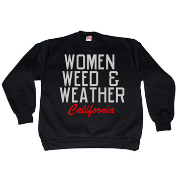 Kendrick Lamar-WOMEN WEED & WEATHER  Sweat Shirt