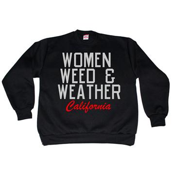 Kendrick Lamar-WOMEN WEED & WEATHER  Sweat Shirt