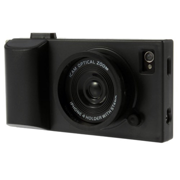 Black Camera iPhone 5 Cover