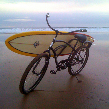 Beach Cruiser  Pinz label