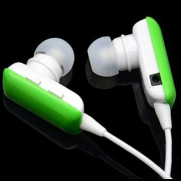 Simple Bluetooth Headset Earphone / GREEN
