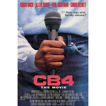 CB4 T-Shirt label