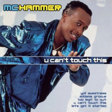 MC Hammer You U Can't Touch This Coin Wallet back