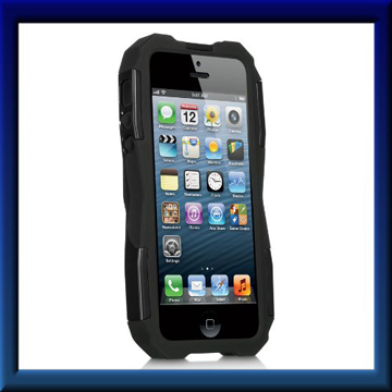 Black Cobra GT Hard Case Cover For Apple iPhone 5 back