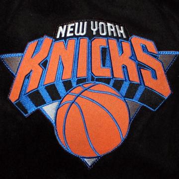 NBA NY KNICKS Pet Dog  JACKET a.k.a 犬のスタジャン back