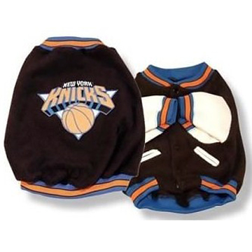 NBA NY KNICKS Pet Dog  JACKET a.k.a 犬のスタジャン