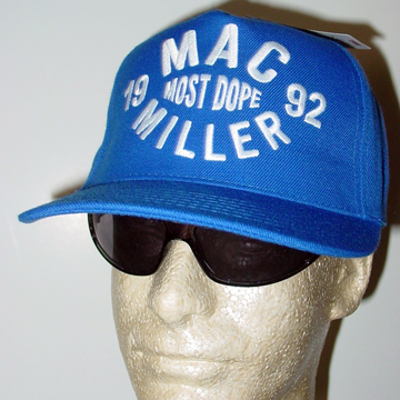 Mac Miller MOST DOPE Snapback Cap