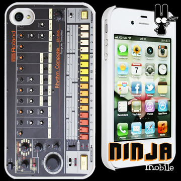 TR-808 iPhone 4/4S CASE front