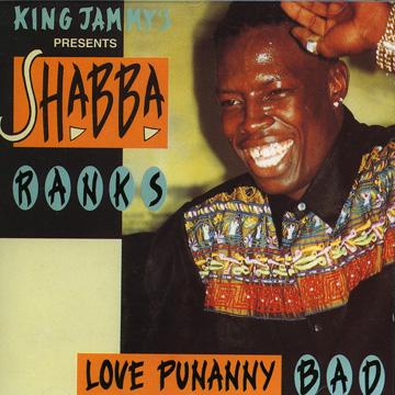 SHABBA RANKS Rough & Ready  promo poster, 1993 label