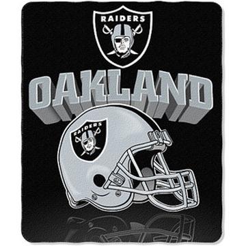 Oakland Raiders NFL フリースブランケット