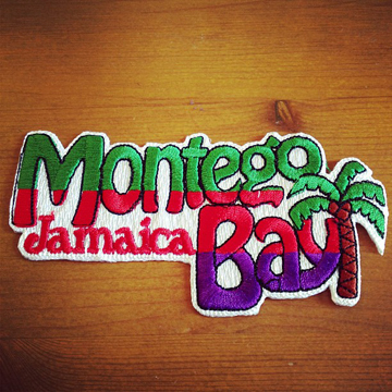 MONTEGO BAY JAMAICA Patch<br />モンテゴベイ アイロンワッペン front