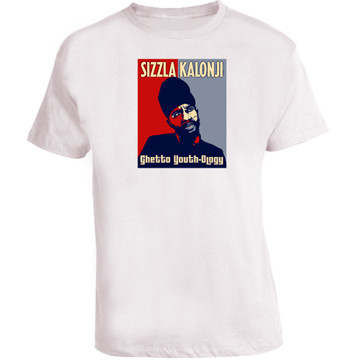 Sizzla Kalonji Reggae Hope T Shirt White