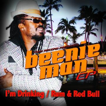 Beenie Man Rum Reggae Rambo T Shirt back