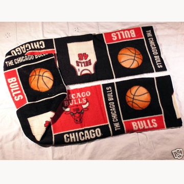 Chicago Bulls Basketball Fleece Scarf