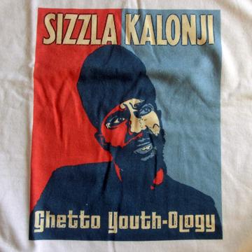 Sizzla Kalonji Reggae Hope T Shirt White back