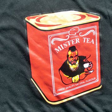 Mr Tea / Mr T from the A team Funny t-Shirt