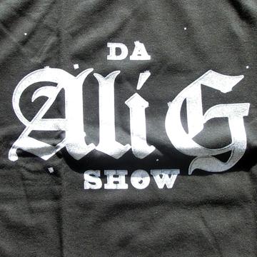 Da Ali G  T Shirt back