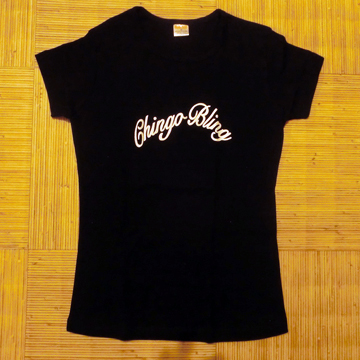 Chingo Bling Black Ladies Shirt S