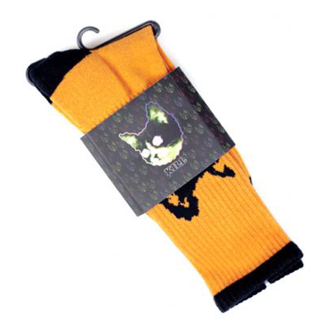 Odd Future Golf Wang Orange Socks back