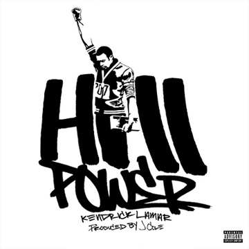 Kendrick Lamar Hiii Power Sweat Shirt label