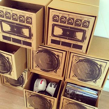 L.S.P SOUND BOX 「YOUTH」4台SET label