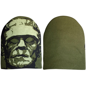 Frankenstein Monster Knit Mask back