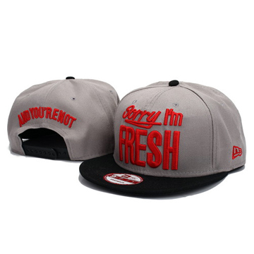 Sorry I,m FREH Snapback Hats back