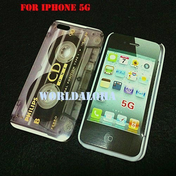 Cassette Tape Hard Cover For Apple iPhone 5