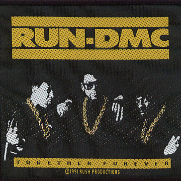 RUN DMC Together Forever  Patch