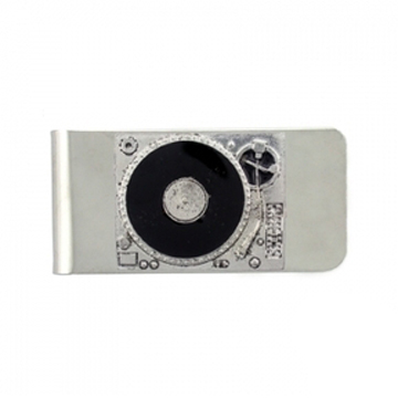Turntable Money Clip front