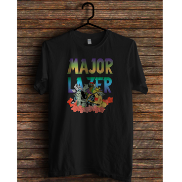 [Size L] MAJOR LAZER T Shirts