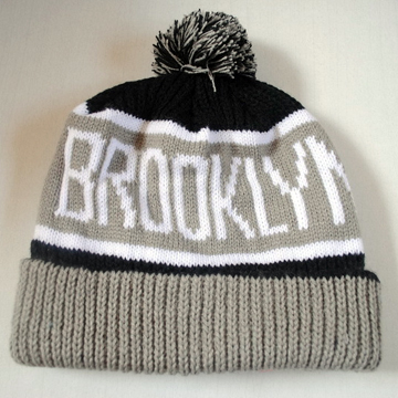 Brooklyn Nets Knit Cap front