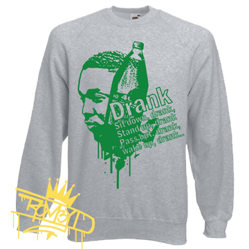 "Kendrick Lamar Sweat Shirt ""Swimming Pools (Drank)"""