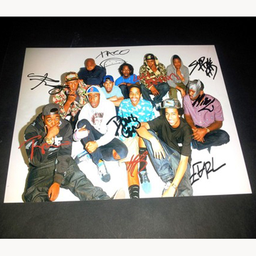 ODD FUTURE SIGNED PHOTO (replica) front