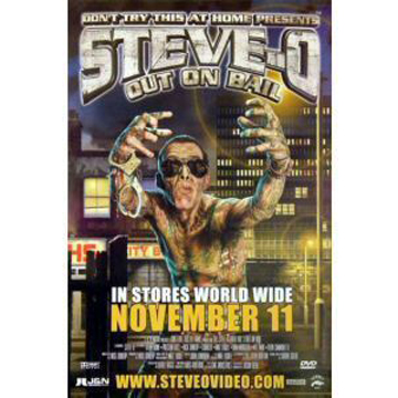 The Steve-O Video Vol. 3: Out On Bail (2004) Poster