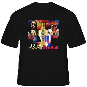 Beenie Man Rum Reggae Rambo T Shirt