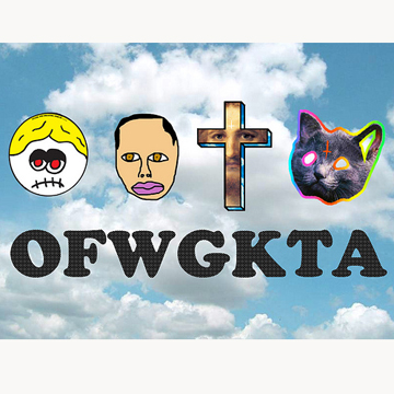 OFWGKTA Odd Future Apple iphone 5 Hard  Cover back